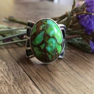 Native American turquoise ring 💚